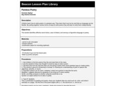 Painless Poetry Lesson Plan