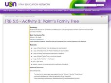 Paint's Family Tree Lesson Plan