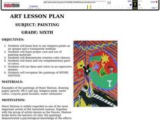 Painting Lesson Plan