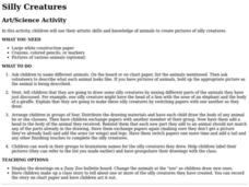 Silly Creatures Lesson Plan