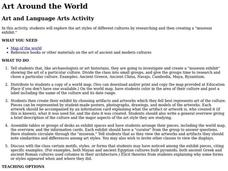 Art Around the World Lesson Plan