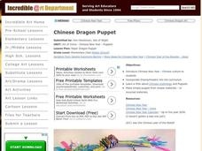 Paper Dragon Puppet Lesson Plan