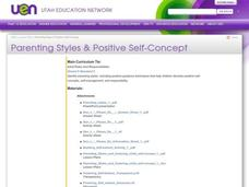 Parenting Styles & Positive Self-Concept Lesson Plan