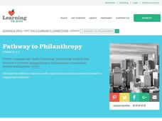 Pathway to Philanthropy Lesson Plan