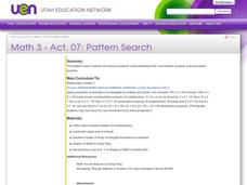 Pattern Search Lesson Plan