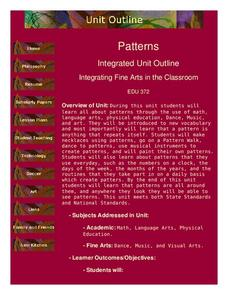 Patterns Lesson Plan