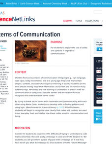 Patterns of Communication Lesson Plan