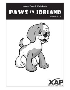 Paws in Jobland Lesson Plan
