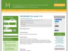 Peacemakers Lesson Plan