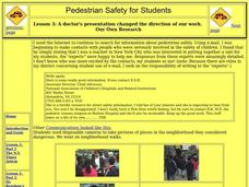 Pedestrian Safety for Students Lesson Plan