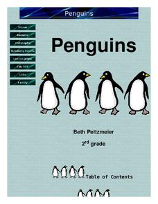 Penguins Lesson Plan