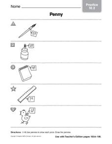 Penny Worksheet