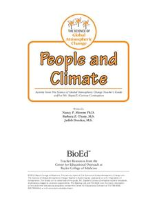 People and Climate Lesson Plan