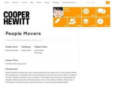 People Movers Lesson Plan