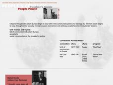 People Power Lesson Plan