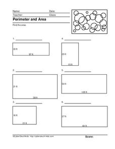 Perimeter and Area 2 Lesson Plan