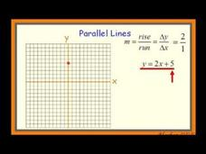 Perpendicular and Parallel Lines Video