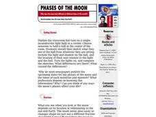 Phases of the Moon Lesson Plan