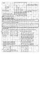 Phone Book Math Worksheet