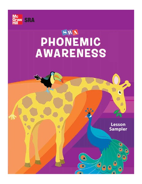 Phonemic Awareness Unit
