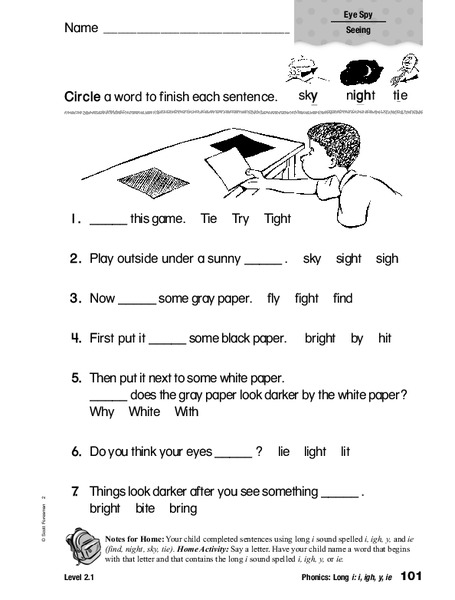 Finding 'igh' in Text | Classroom Secrets