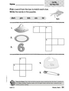 Phonics: Short i Worksheet