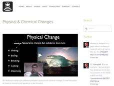 Physical and Chemical Changes Video