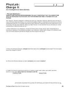conductors and insulators worksheet pdf
