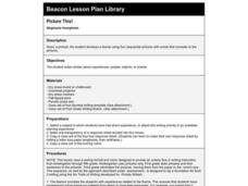 Picture This! Lesson Plan