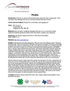 Pirates Lesson Plan