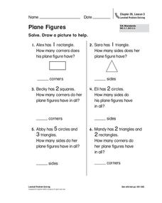 Plane Figures Worksheet