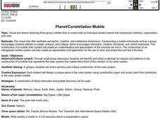 Planet/Constellation Mobile Lesson Plan