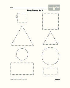 Plane Shapes Worksheet
