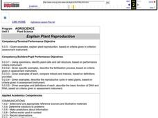 Plant Reproduction Lesson Plan