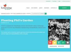 Planting Phil's Garden Lesson Plan