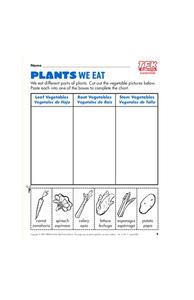 Plants We Eat Lesson Plan