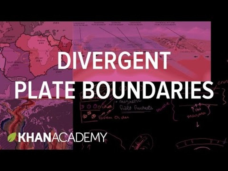 Plate Tectonics-Geological Features of Divergent Plate Boundaries Video