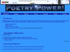 Poetry Power Lesson Plan