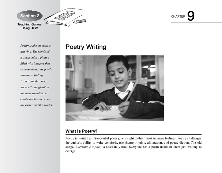 Poetry Writing Handouts & Reference