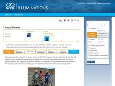 Pedal Power Lesson Plan