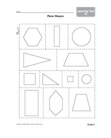 Polygons Printables & Template