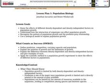 Population Biology Lesson Plan