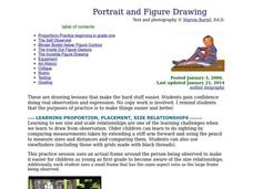 Portrait and Figure Drawing Lesson Plan