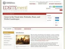 Portraits, Pears, And Perfect Landscapes: Investigating Genre in the Visual Arts Lesson Plan