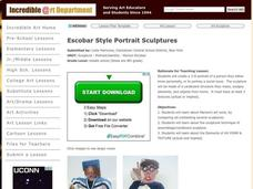 Portrait Sculptures Lesson Plan