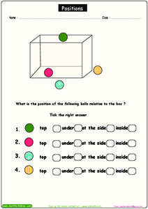 Positions Worksheet