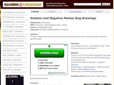 Positive/Negative Bugs Lesson Plan