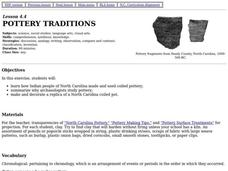 Pottery Traditions Lesson Plan