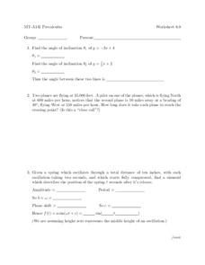 Precalculus Worksheet Worksheet