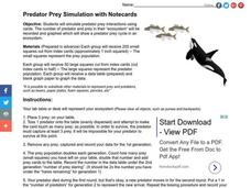 Predator-Prey Simulation Lesson Plan